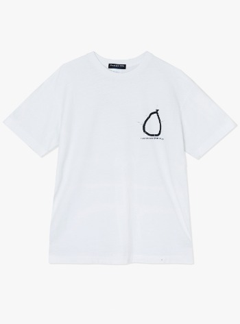 SHOOT OUT S/S TEE-WHITE